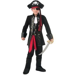 Boys 4-6 Seven Seas Kids Pirate Costume Set
